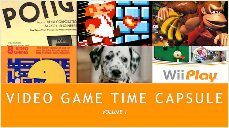 Videogame Time Capsule