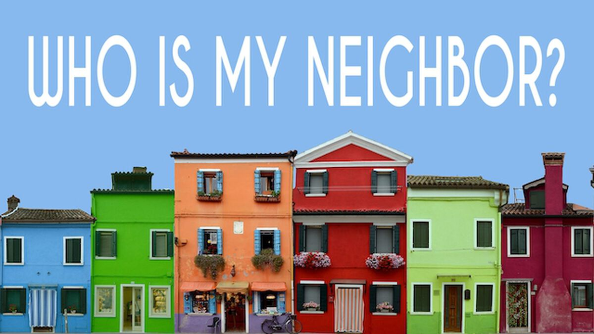 Who is My Neighbor? Teaching + Instagram Game image number null