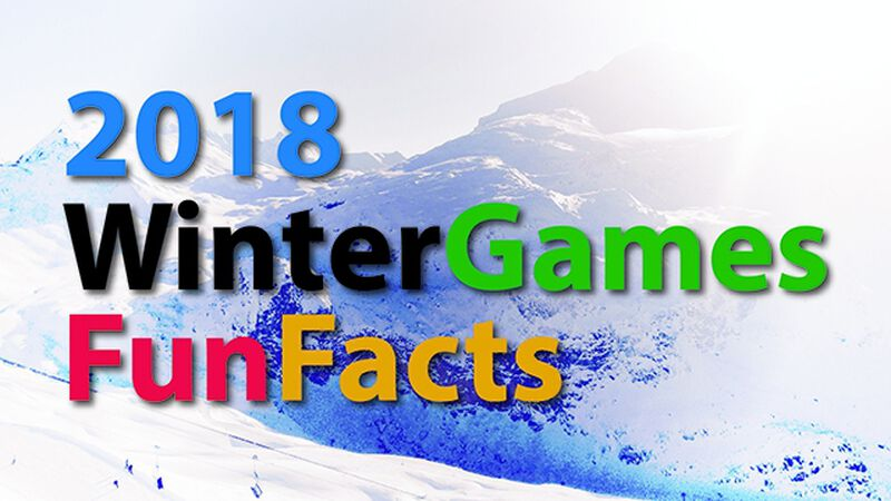 2018 Winter Games Fun Facts
