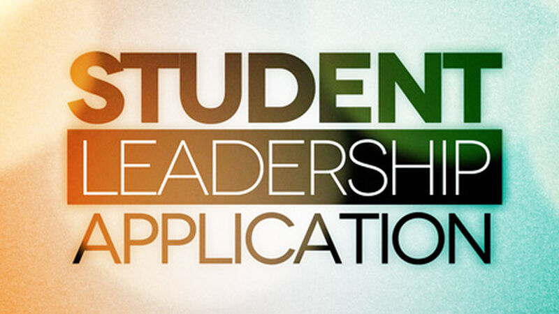 Student Leadership Application