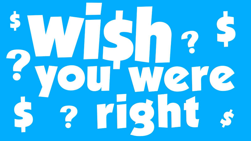 Wish You Were Right - Price Guessing Game