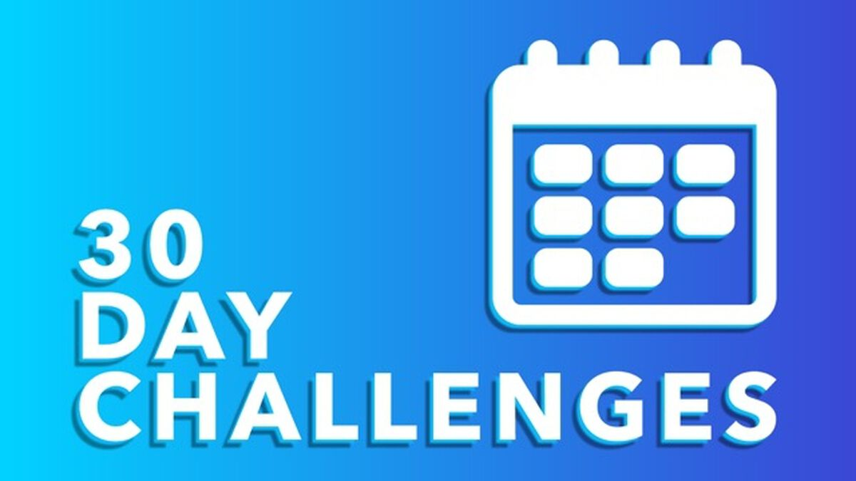 30 Day Challenges image number null