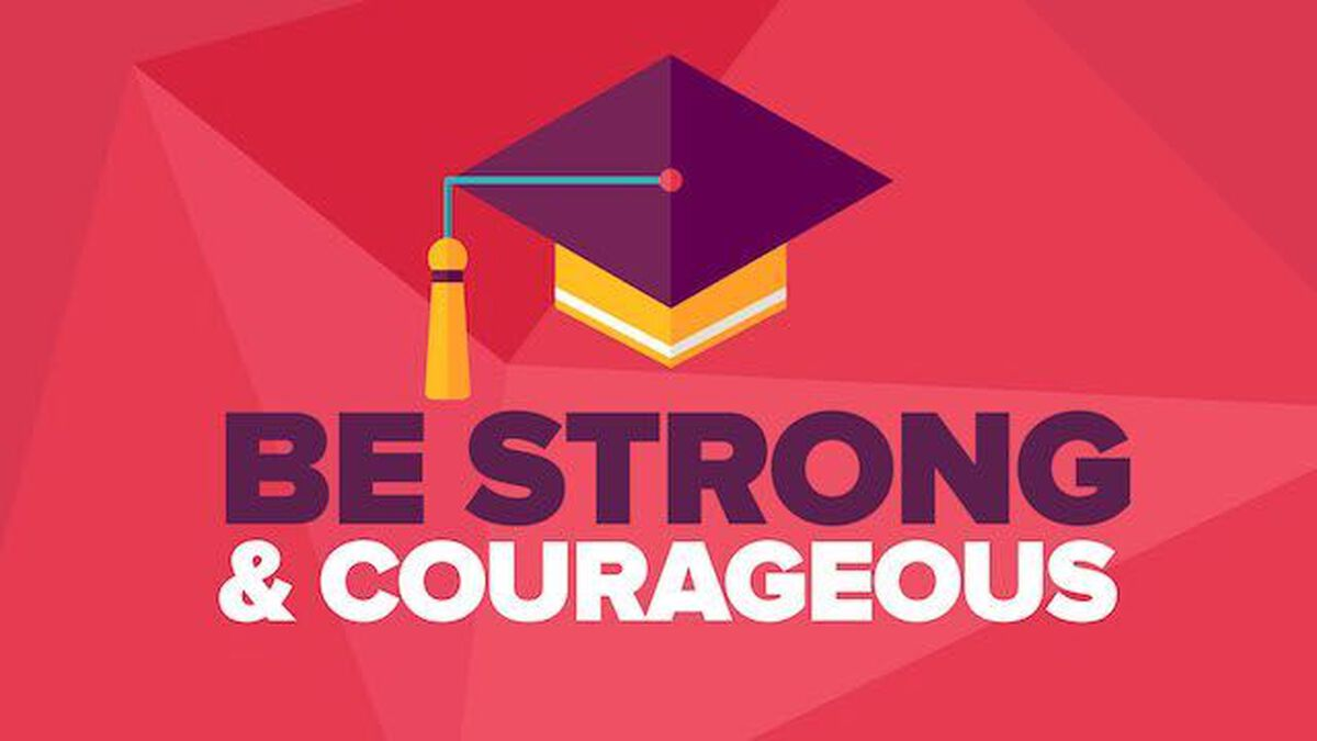 Be Strong and Courageous image number null