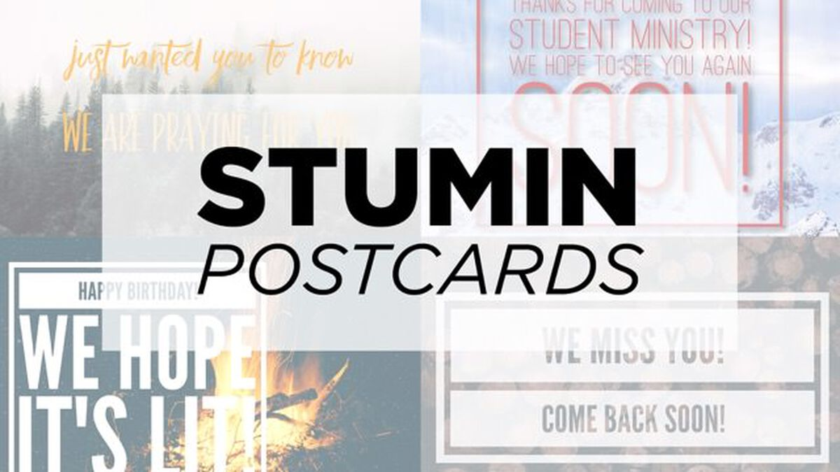 6 Different Student Min Postcards image number null