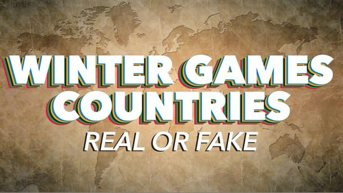 Winter Games Countries: Real or Fake image number null