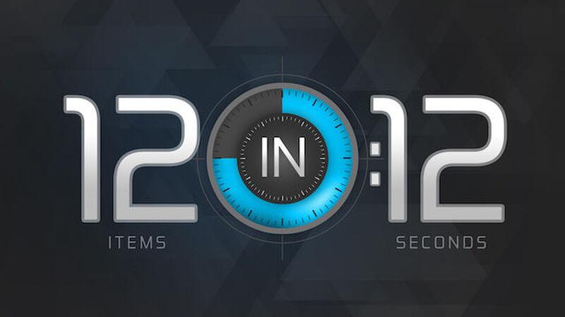 12 in 12: Volume 3