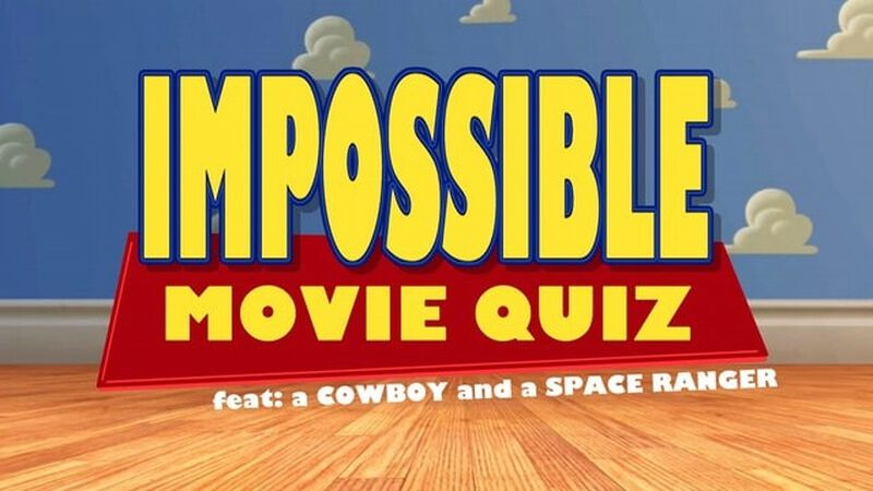 Impossible Movie Quiz feat a Cowboy and a Space Ranger