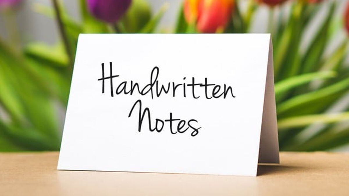 Handwritten Notes image number null