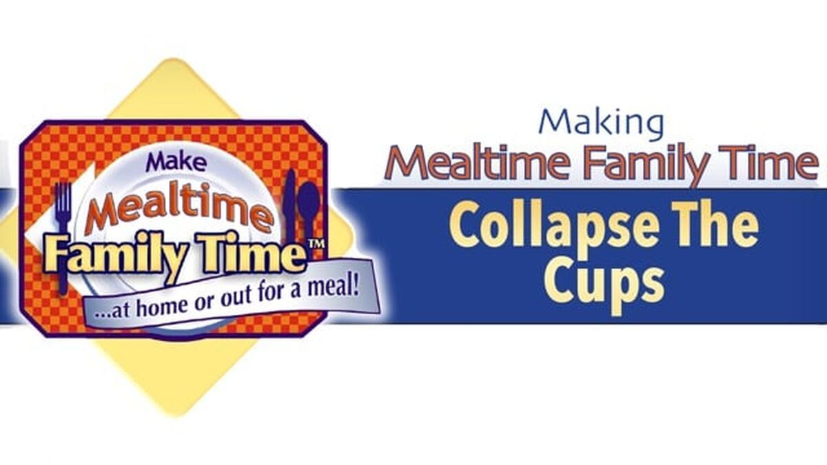 Collapse the Cups Table Time Event: A Total Family Resource image number null