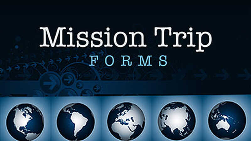 Mission Trip Form Pack