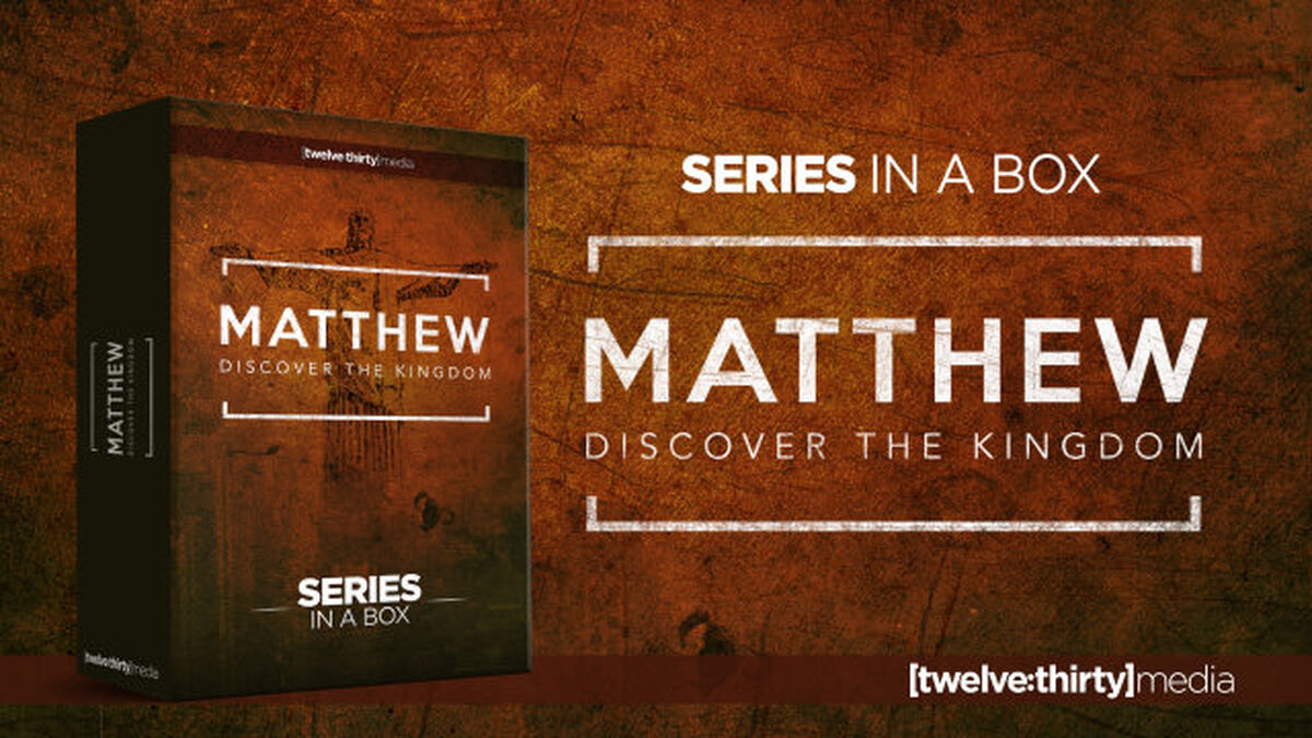 Matthew: Discover the Kingdom Series - Creative Elements image number null