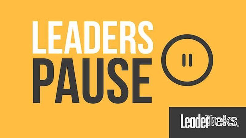 Student Leaders Pause