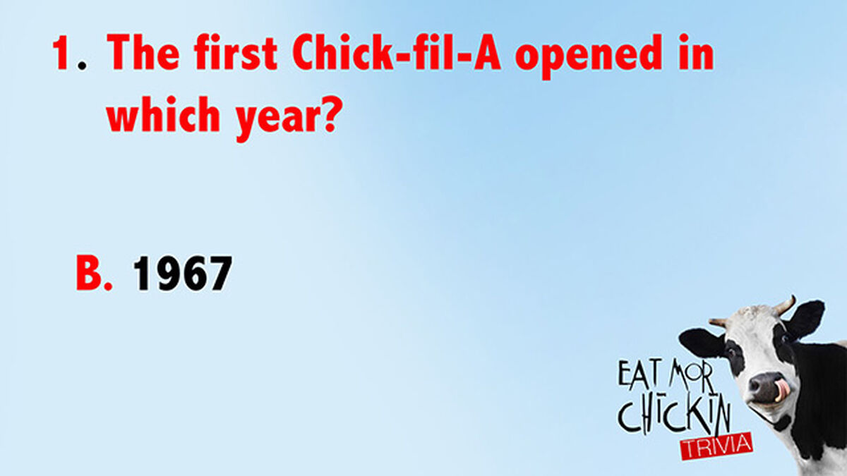 Eat Mor Chikin Trivia  image number null