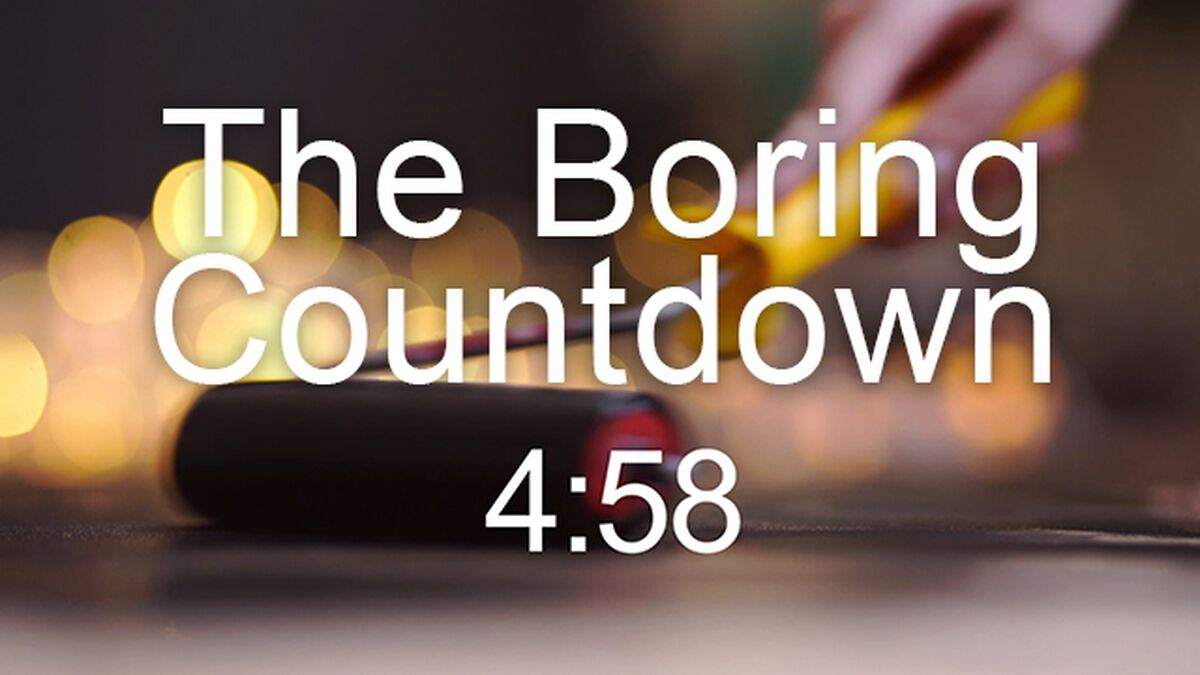 The Boring Countdown image number null