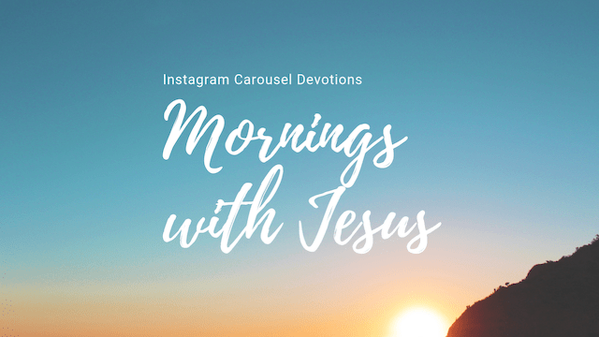 Mornings with Jesus image number null