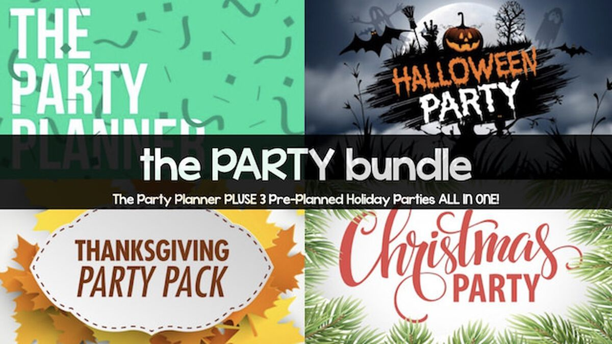 The Party Planner Bundle image number null