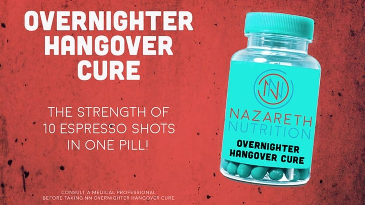 Overnighter Hangover Cure image number null