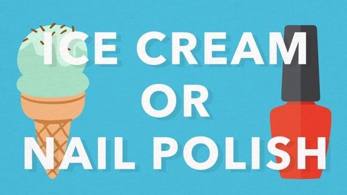 Ice Cream or Nail Polish image number null