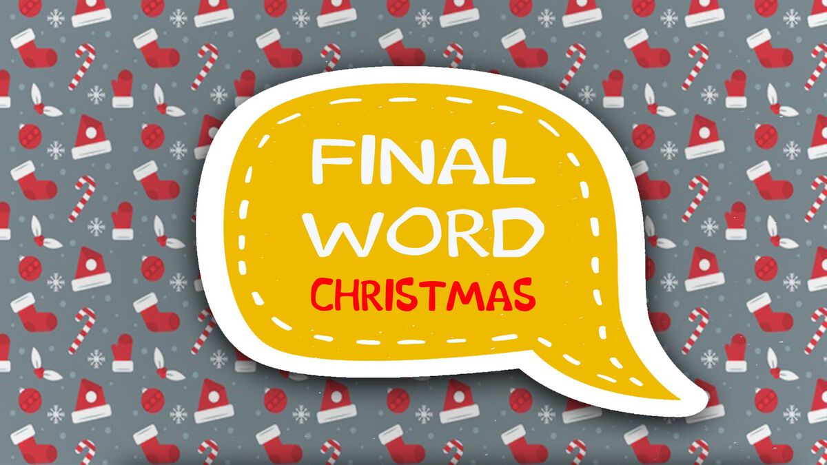 Final Word Christmas image number null
