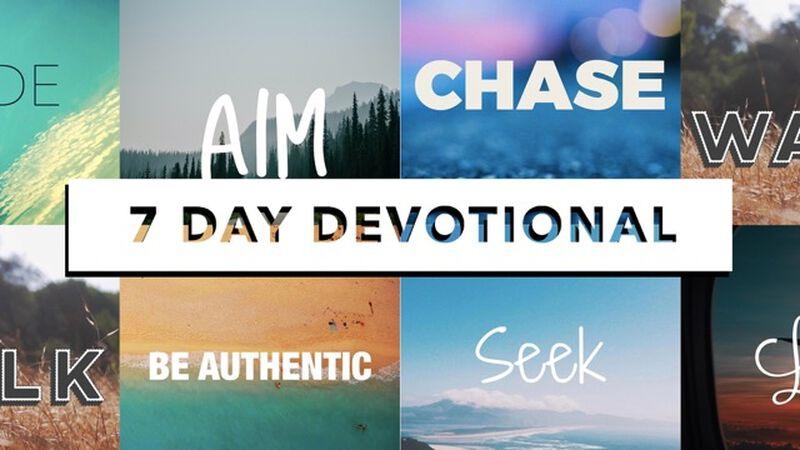 AIM: 7-Day Instagram Devotional