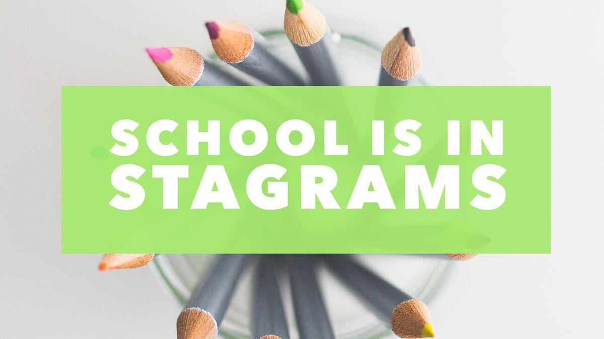 School Is In-Stagrams image number null