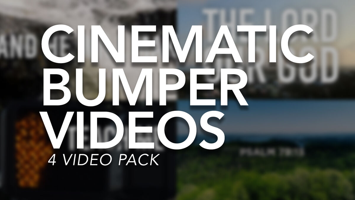 Cinematic Bumper Videos image number null