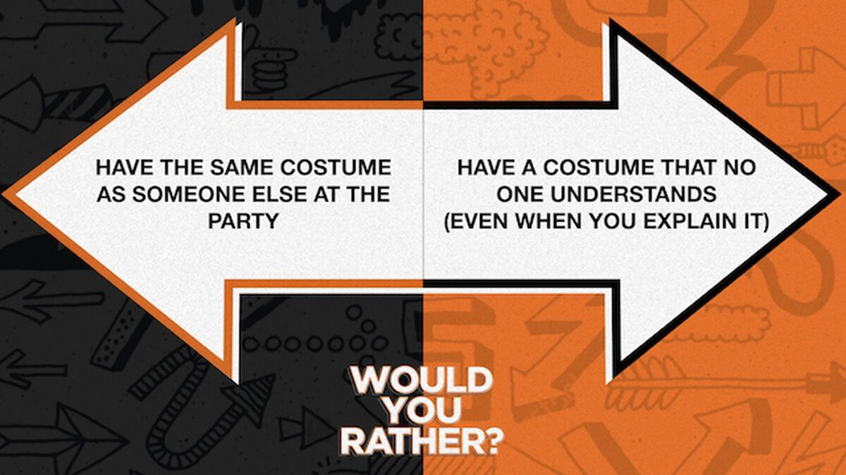 Would You Rather: Halloween Edition image number null