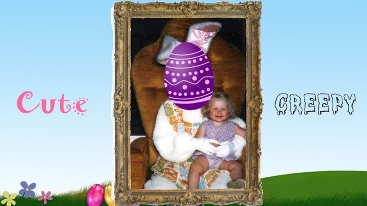 Easter Bunny: Cute or Creepy image number null