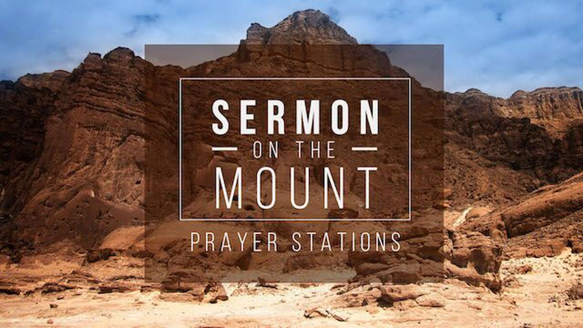 Sermon on the Mount Prayer Stations on Leadership image number null