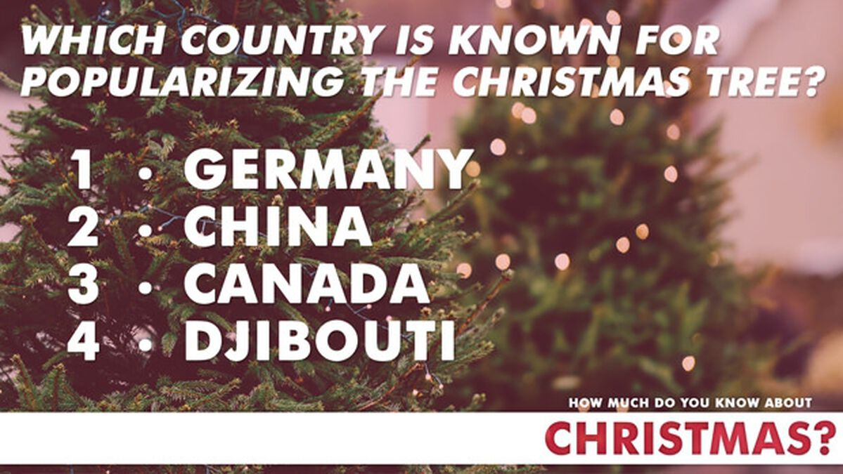 How Much Do You Know About Christmas? image number null
