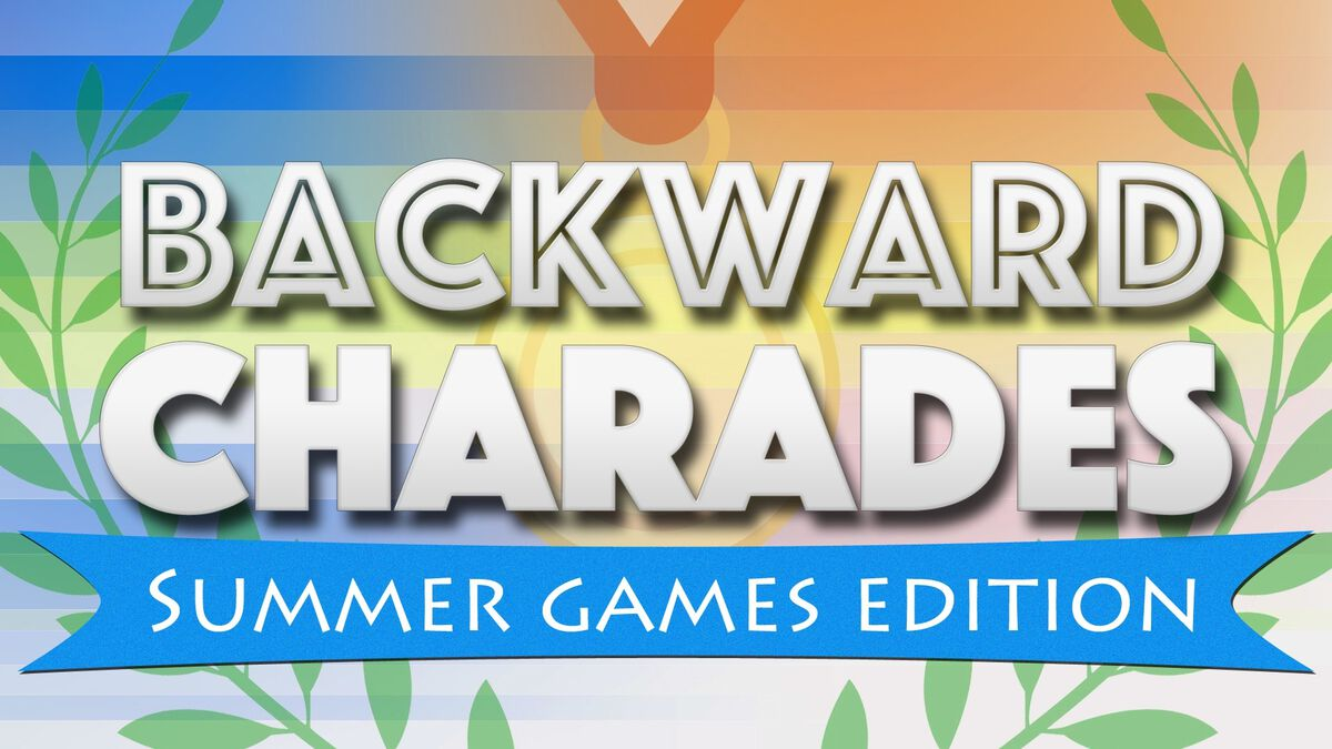Backward Charades Summer Games Edition image number null