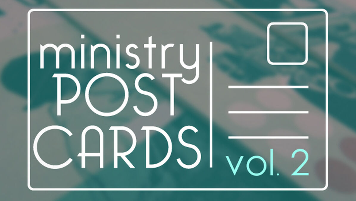 Ministry Postcards: Volume 2 image number null