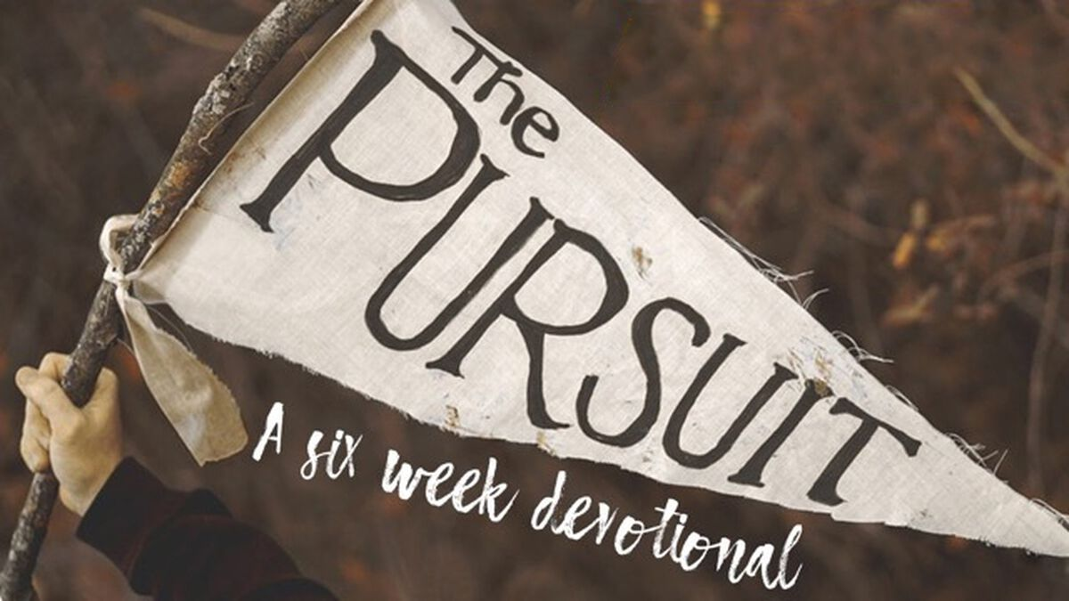 The Pursuit 6-Week Devotional image number null