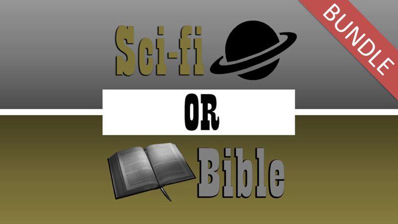 Sci-Fi or Bible Trilogy Game Bundle