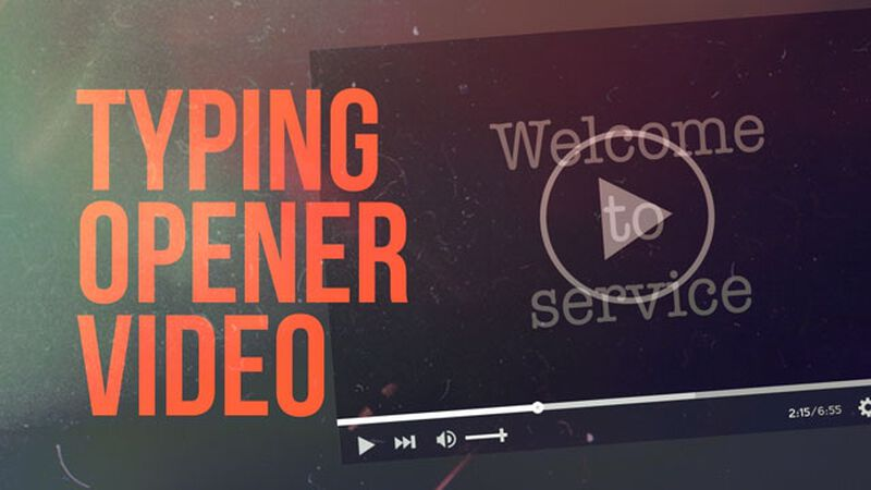 Typing Opener Video