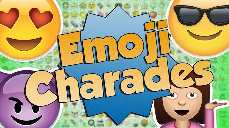 Emoji Charades: Volume 1