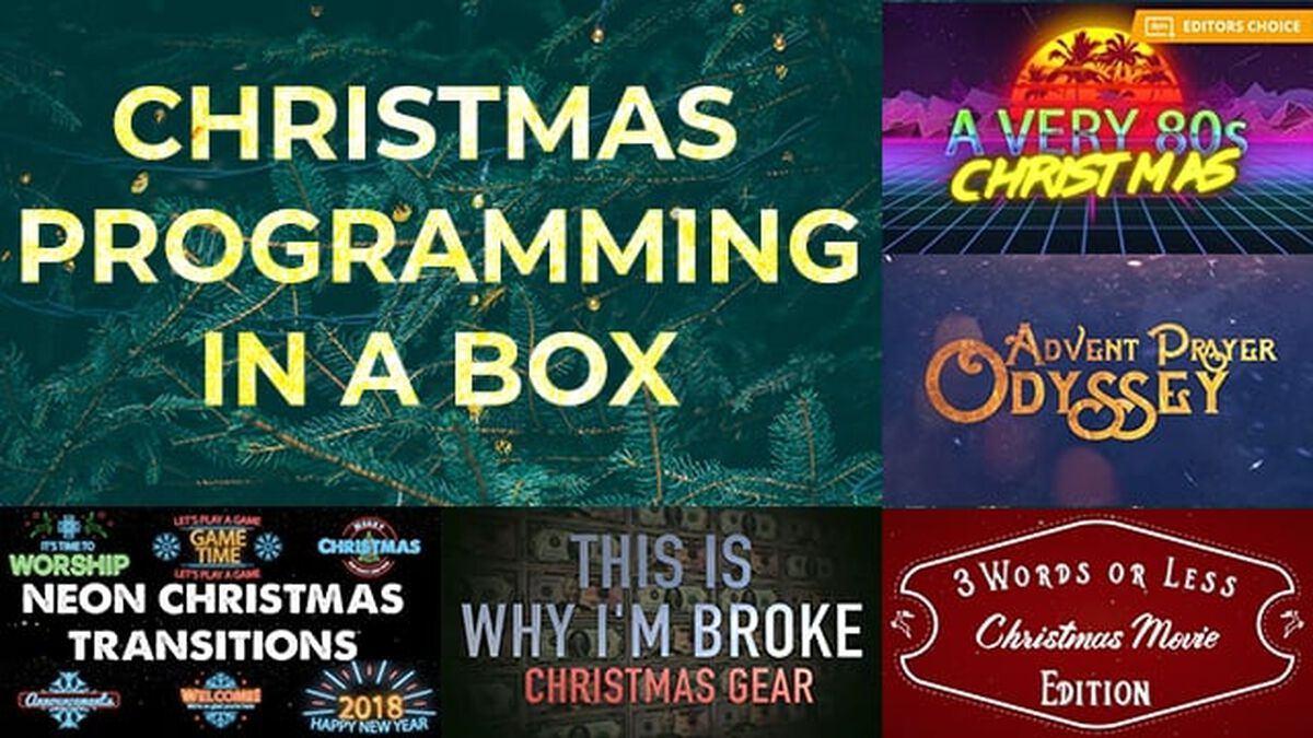 Christmas Programming in a Box image number null