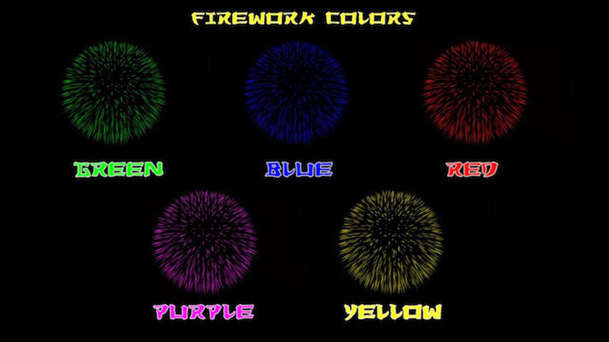 Fireworks Game image number null