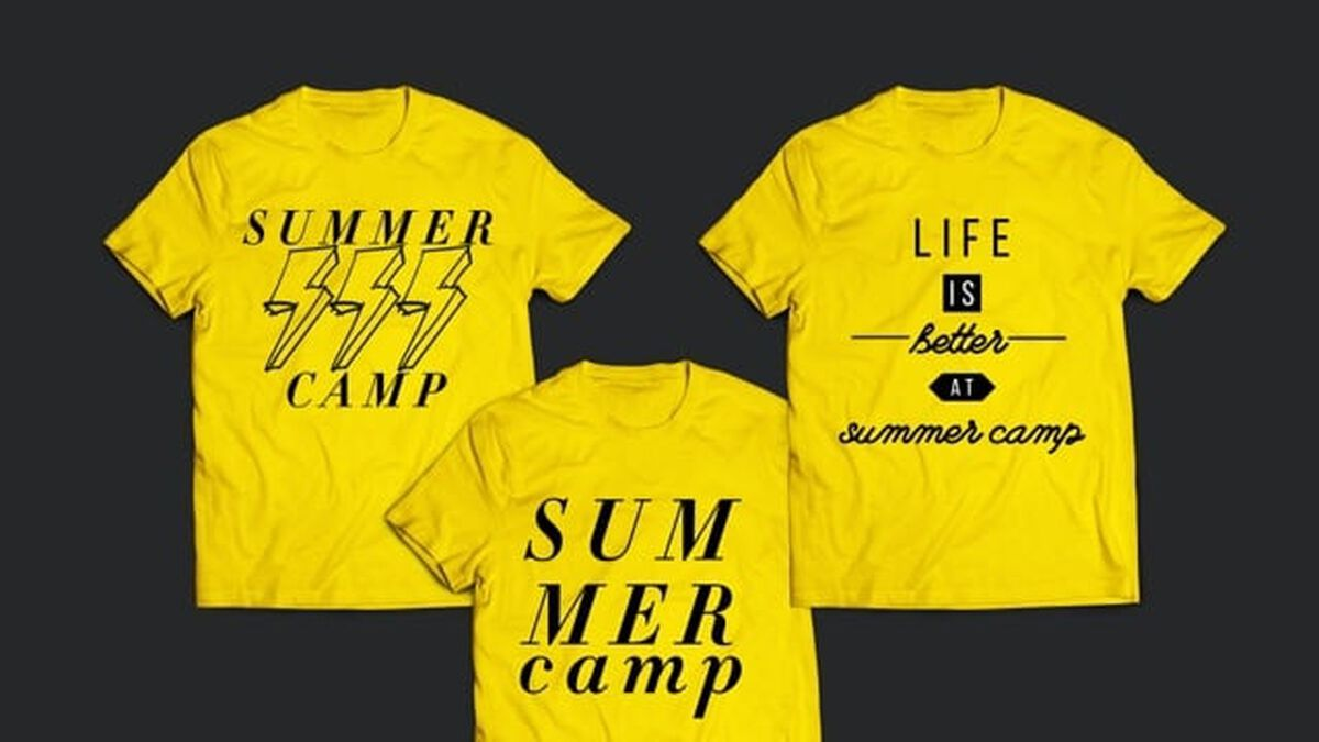 Summer Camp Shirt Mock-Up image number null