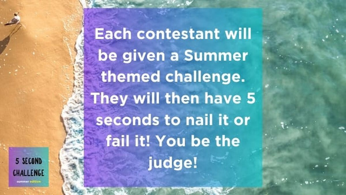 5 Second Challenge: Summer Edition image number null
