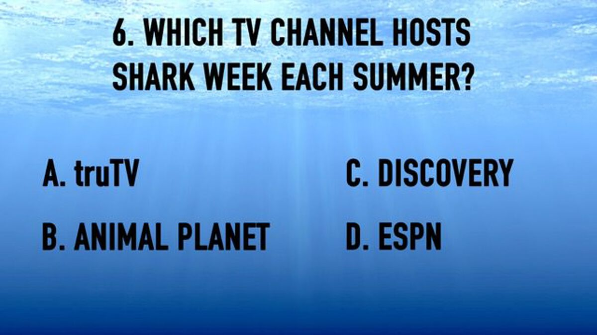 Shark Week Trivia image number null