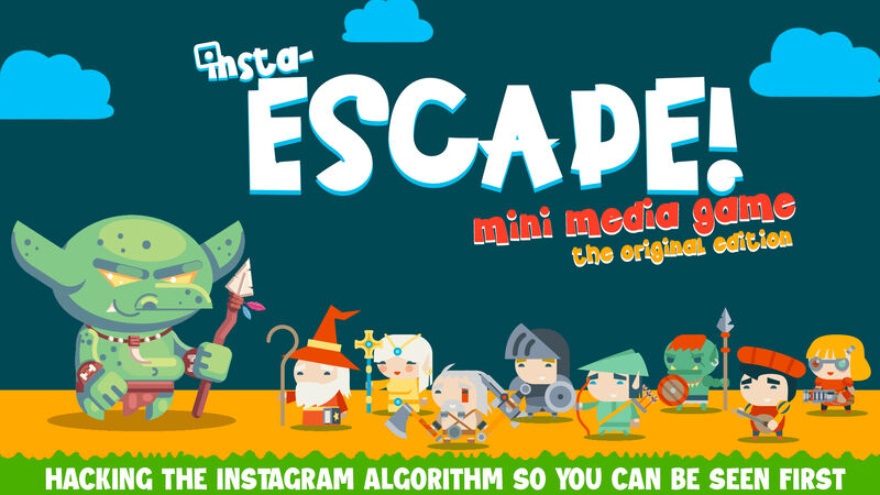 Insta-Escape Mini Game