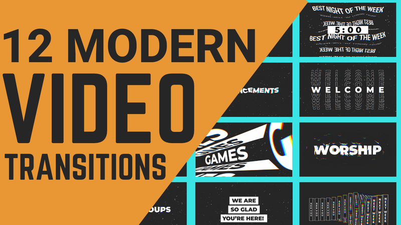 Modern Transition Video 12-Pack