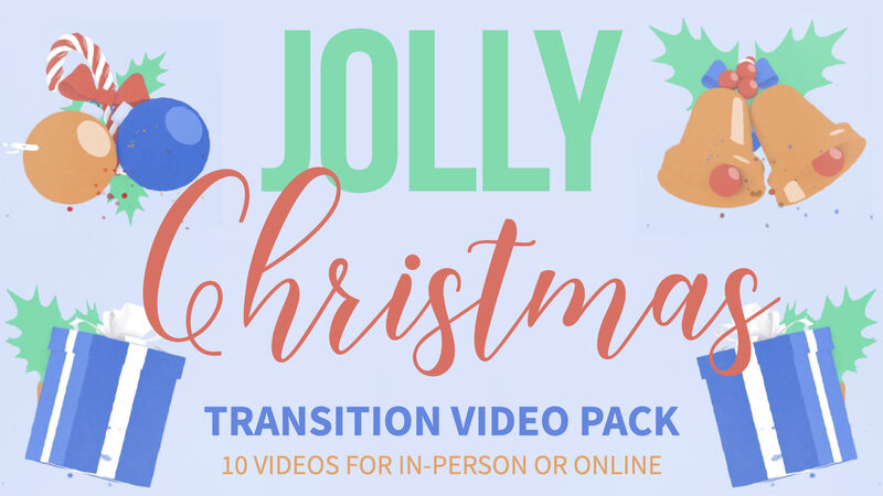 Jolly Christmas Transition Video Pack