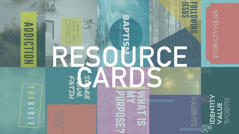 Ready-Made Topical Resource Cards