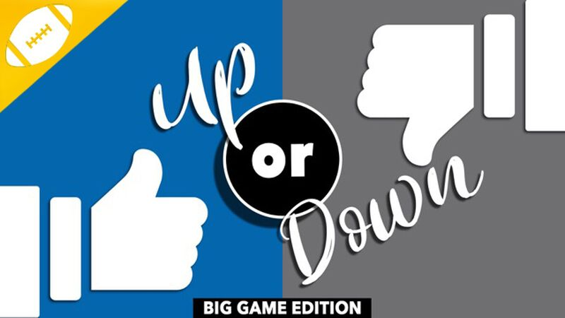 UP OR DOWN: BIG GAME EDITION