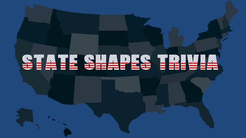 State Shapes Trivia