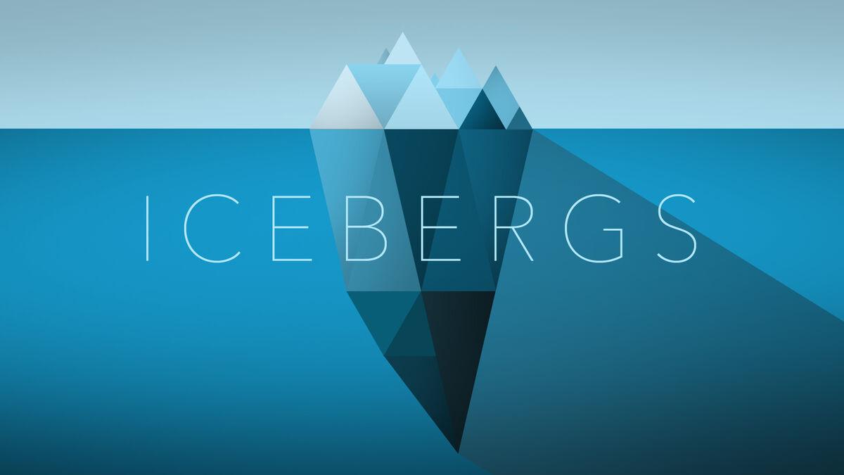 Icebergs image number null