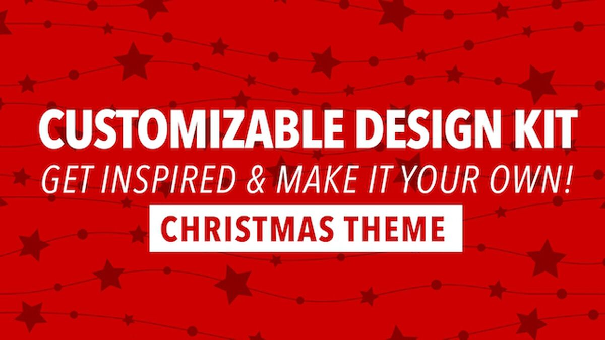Customizable Design Kit: Christmas Theme image number null