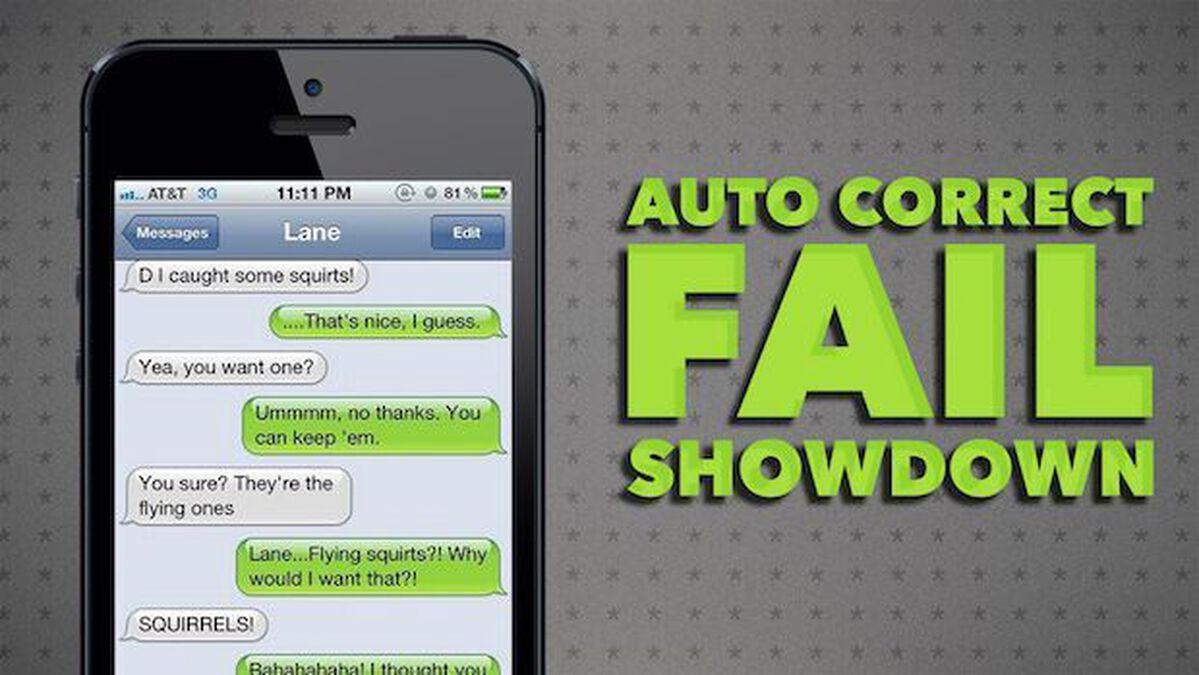 Auto-Correct Fail Showdown image number null